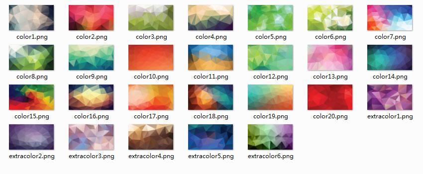 PPT素材,PPT背景图片,低多边形PPT素材