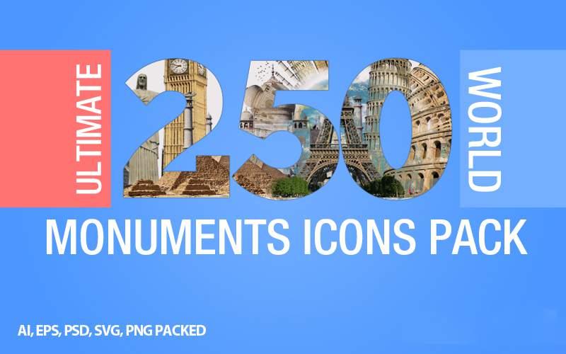 PPT素材|250套世界名胜古迹PPT图片下载(多种格式)