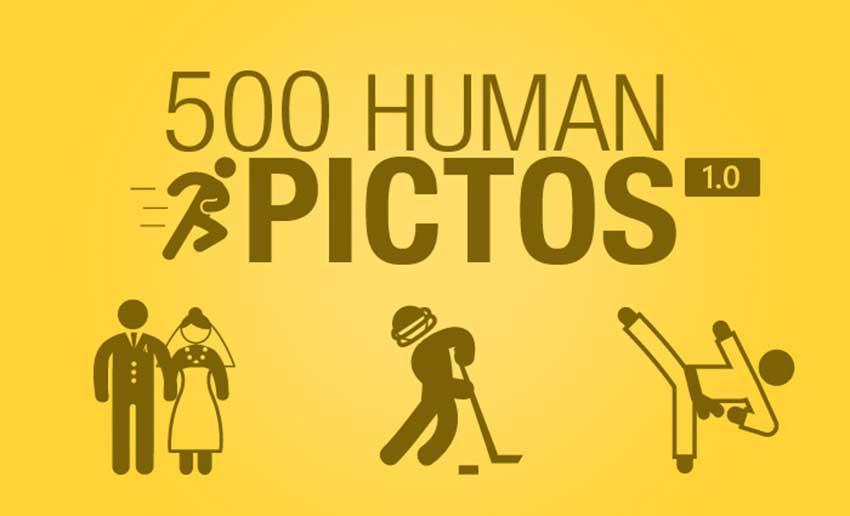 PPT素材|国外素材:500+PPT人物剪影图片(3种格式)