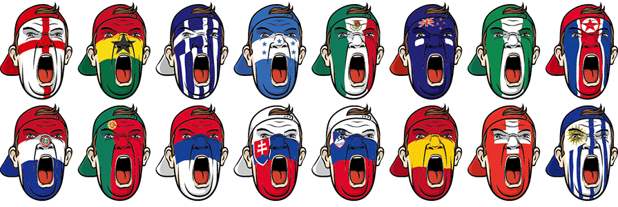 PPT制作教程,PPT制作素材,PPT图片素材,世界各国国旗